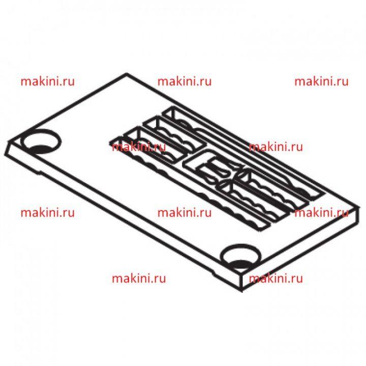 14-806 игольная пластина Kwokhing двухигольная 3.2 мм