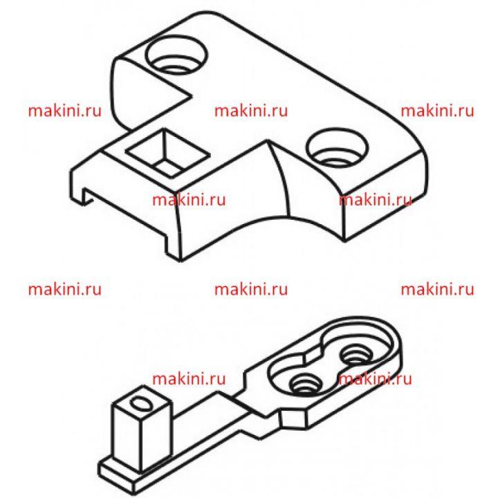 335-S3 игольная пластина + 335-S4   Kwokhing