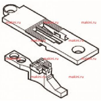 KH1246-NP/FD-6мм Kwokhing игольная пластина и транспортер