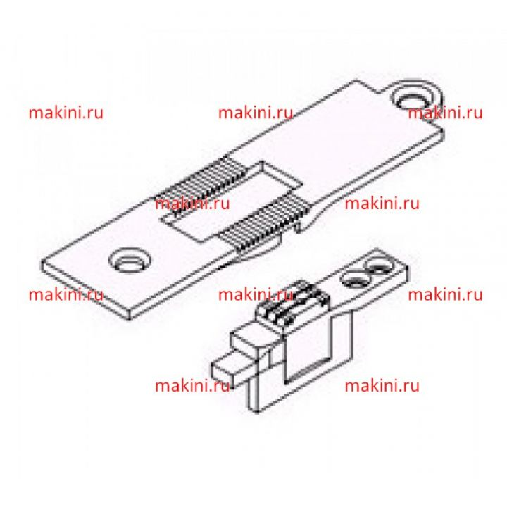 KH267-DNP/DFD-8 Kwokhing игольная пластина 8 мм