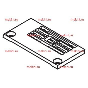 Y93170 игольная пластина Kwokhing двухигольная 3.2 мм