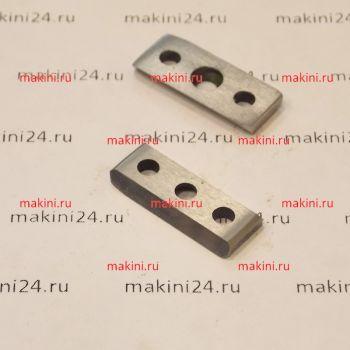 KURIS 02257 нож - counter blade, HSS  для BOM 30
