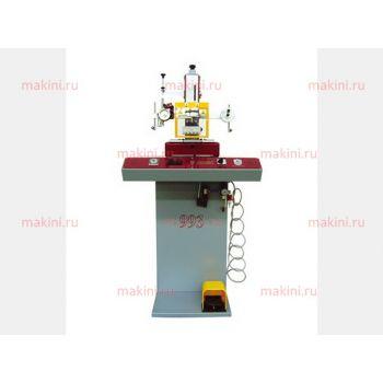 OMAC 993 PNT T4 Пневматическая машина для клеймения и нанесения логотипов с поворотным механизмом на 4 клише (Италия)