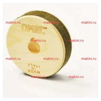 OMAC Фетровая/кожаная щетка для машин 860-LB420, 120х20х20 мм