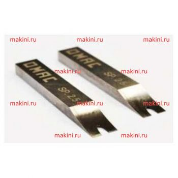OMAC Набор ножей толщиной  1-7 мм для 800 RAL, 810-820, длина - 150 мм