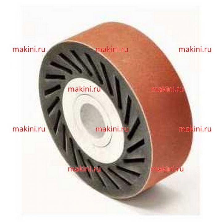 OMAC Резиновая щетка с абразивным кольцом/лентой для машин 860, 90х30х20 мм