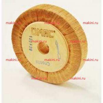OMAC Щетка из кожи для машин 860, 120х20х20 мм.