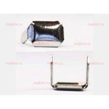 OMAC Скоба из никелированной стали для GR5, 10000 шт., 8х5