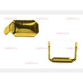 OMAC Скоба из золотистой стали для GR5, 10000 шт., 8х5 мм