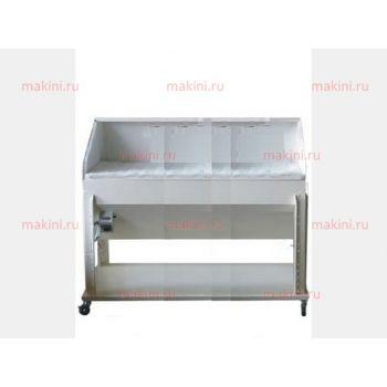 OMAV T160E Стол для нанесения клея с вытяжкой ширина 160 см