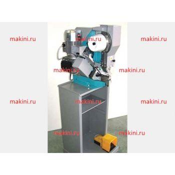 SICOM M21G-E Автоматическая машина для установки люверсов с двумя автоматическими загрузчиками (люверсов и колец), Максимальный диаметр отверстия 8 мм, в комплекте со станиной и падалью, сертификат CE, производство Италия
