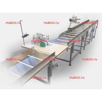 SM-120-CA Линейная швейная станция