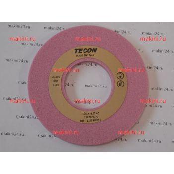 Заточной камень Q99356020 RO розовый GRIND.STONE 100X8X40 RO (TECON, Италия)