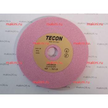 Заточной камень R07401 RO розовый GRIND.STONE 100X8X15 RO (TECON, Италия)