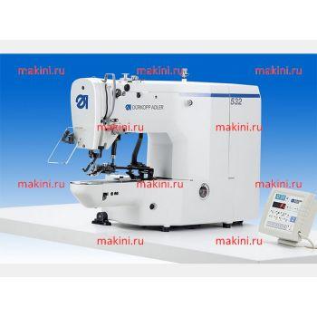 Durkopp Adler 532-211-01 одноигольный швейный автомат челночного стежка для пришивания пуговиц