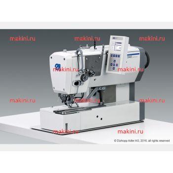 Durkopp Adler 540-100-01 дноигольный швейный автомат челночного стежка для изготовления прямой (бельевой) петли