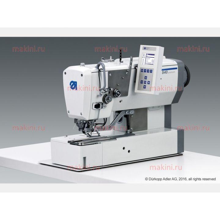 Duerkopp Adler 540-500-01 одноигольный швейный автомат челночного стежка для прямой(бельевой)петли
