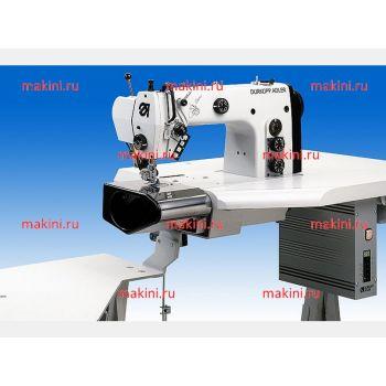 Durkopp Adler 550-5-5-2 Оборудованное рабочее место для прокладывания строчки по поясу брюк и юбок