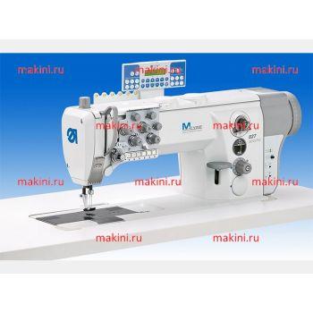 Durkopp Adler 827-260122-M двухигольная швейная машина с плоской платформой и прямым приводом
