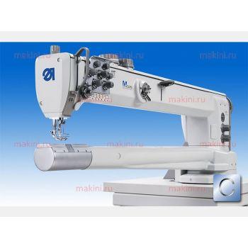 Durkopp Adler 869-280322-100 двухигольная швейная машина с цилиндрической платформой