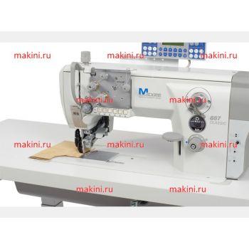 Durkopp Adler 887-363522-M одноигольная швейная машина с плоской платформой