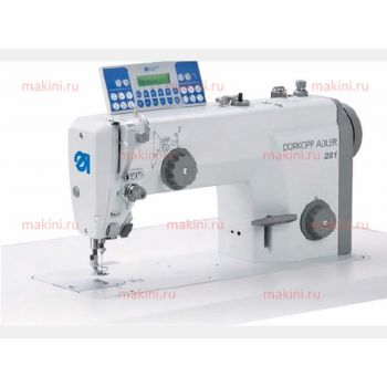 Durkopp Adler 281-140342-03 Одноигольная швейная машина с приводом Direct Drive для легких и средних материалов