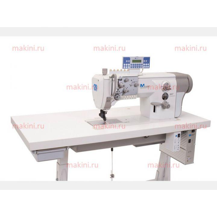 Durkopp Adler 887-160142-M одноигольная швейная машина с плоской платформой