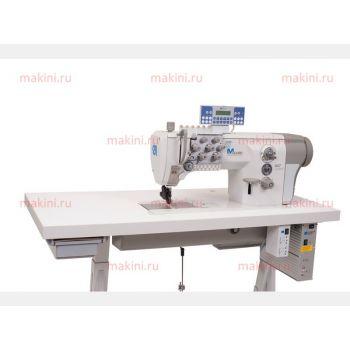 Durkopp Adler 887-260122-М двухигольная швейная машина с плоской платформой