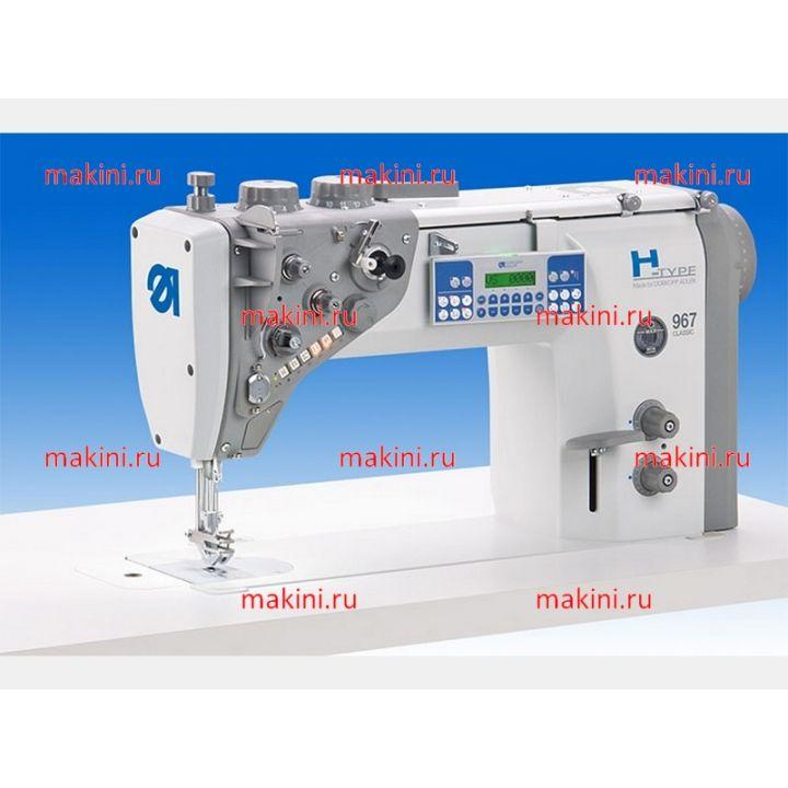 Durkopp Adler 967-100382 одноигольная швейная машина с челноком баррель