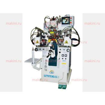 Elettrotecnica B.C. Mod. 999CT Программируемая машина для затяжки пяточной части обуви
