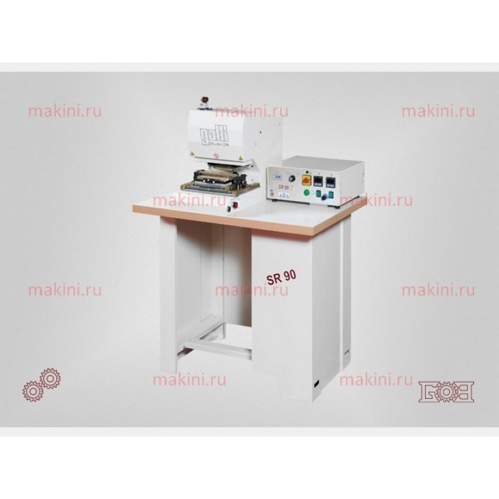 Galli SR 90 гидравлическая машина для формовки часовых ремешков