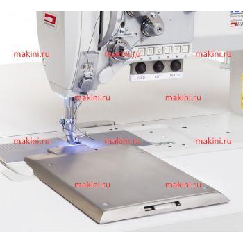 Habraken HM 602 швейная машина для притачивания ленты снизу, с механизмом подачи и обрезки