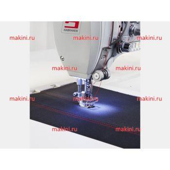 Habraken HM 801 швейная машина для параллельных швов с движущимся шаблоном для материала