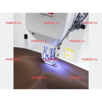 Habraken HM 820 двухигольная швейная машина для декоративных швов